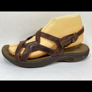 Merrell Agave Leather Slingback Sandals 8